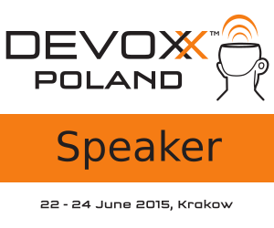 Devoxx Poland Speaker Badge